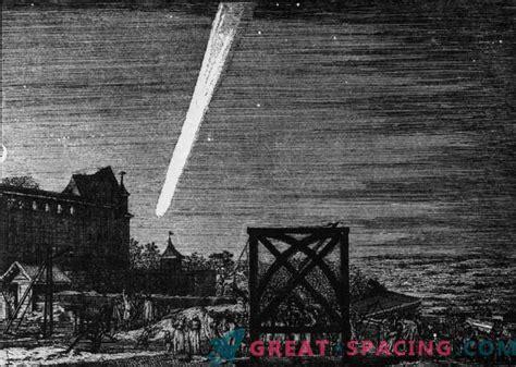 Apbrīnojami komētu attēli, kas baidījās cilvēci