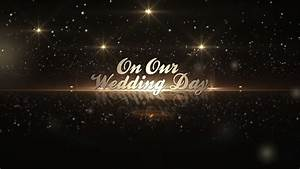 after effects template golden wedding pack youtube With adobe after effects title templates free