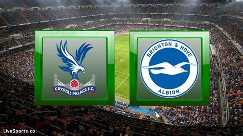 H2H: Crystal Palace vs Brighton - Prediction (Premier ...