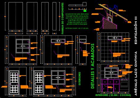 Details And Finishes In Drywall DWG Detail for AutoCAD