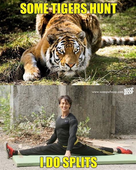 Tiger Meme These Memes Prove Why We Need To Save Tiger Shroff On