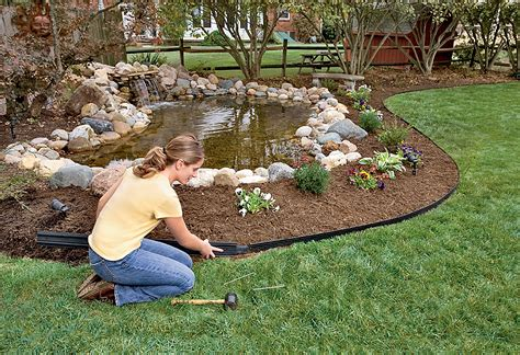 lawn and garden no dig lawn edging and landscape border project hardscapes