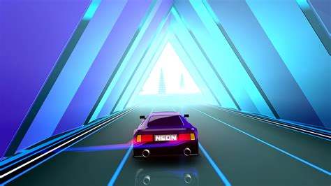 neon drive  arcade game  game  fraoula