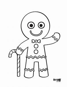 Gingerbread Man Coloring Page   Coloring Pages   Pinterest ...