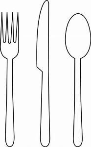 Fork Outline - Cliparts.co