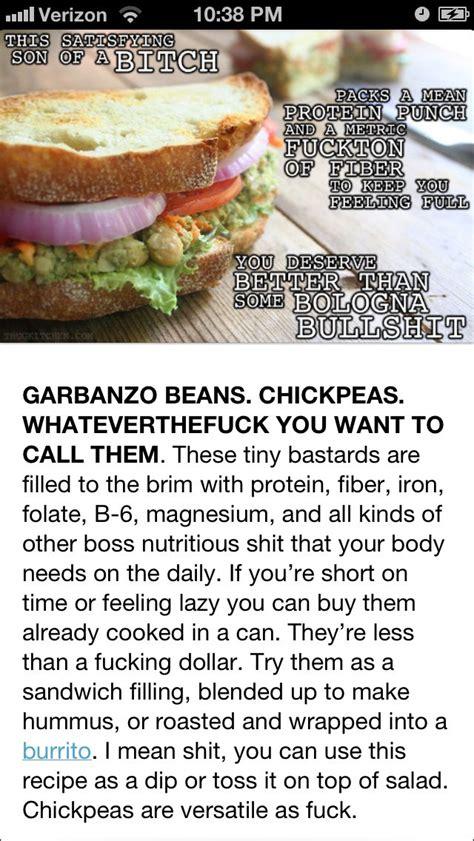 thug kitchen recipes garbanzo bean sandwich from thug kitchen funniest food