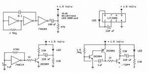 Circuit Diagram Analysis Of Three Led Flashers