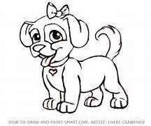 drawing dog dog cartoon drawings cartoon dog how to draw cartoon dogs  How To Draw A Puppy