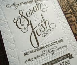 letterpress wedding invitations josh 39 s diy letterpress wedding invitations paper crave
