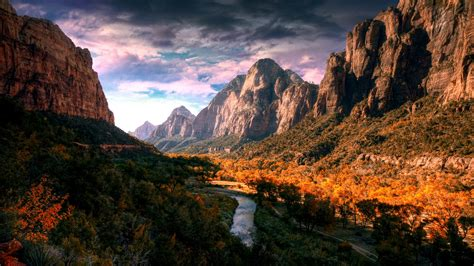 nature hdr river landscape mountain wallpapers hd