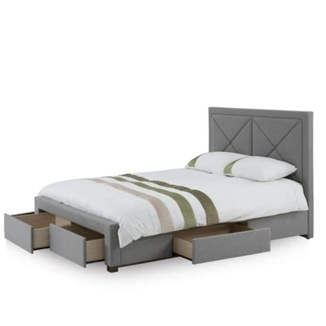 Upholstered Bed Frame With Storage by Upholstered Bed Frame With Storage Drawers