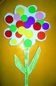 Blumen Basteln Kinder : blume aus karton papier basteln meine enkel und ich ~ Frokenaadalensverden.com Haus und Dekorationen