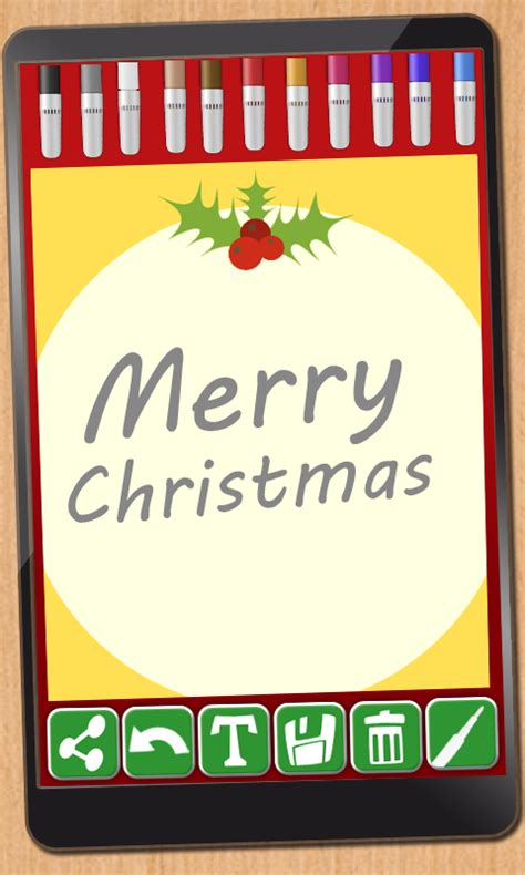 Create Personalized Christmas Cards  Android Apps On