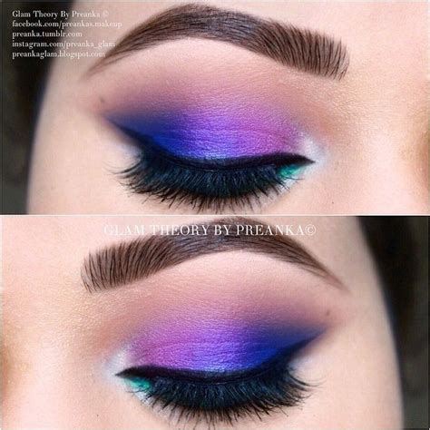 colorful makeup 17 best images about colorful makeup on purple