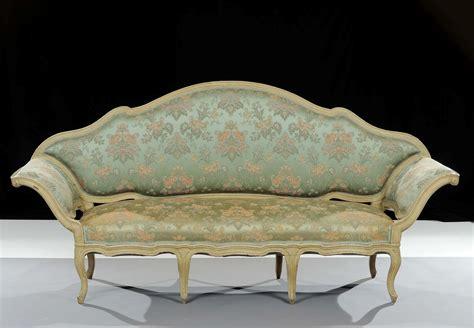 Divano Luigi Xv - divano luigi xv laccato xviii secolo antiquariato e