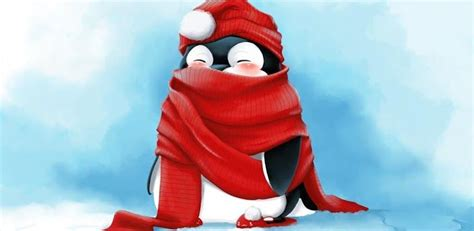 Choose from hundreds of free christmas wallpapers. Christmas Penguin Wallpaper - Wallpaper