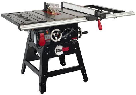 table saw stops dog sawstop cns175 sfa30 1 3 4 hp contractor saw with 30 inch