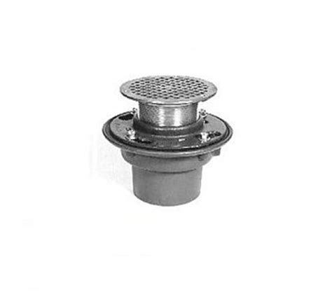 zurn zn415 2nl 5b 2 quot cast iron floor and shower drain with