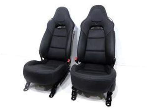 replacement chevy corvette c7 black oem leather seats with