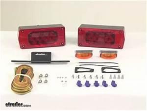 Waterproof  Over 80 U0026quot  Aero Pro Led Trailer Light Kit W 25
