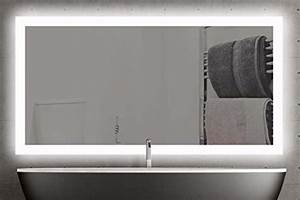 Miroir 160 Cm : miroir lumineux chambre id es de d coration int rieure french decor ~ Teatrodelosmanantiales.com Idées de Décoration