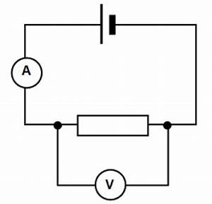 Draw A Labelled Diagram Of Electric Circuit Comprising Of A Cell  A Resistor An Ammeter  A