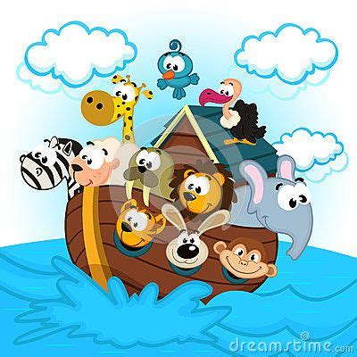 noah ark cartoon stock  images pictures