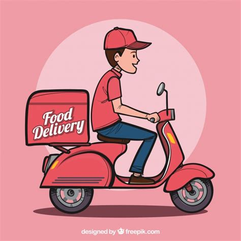 Pics Of Neon Green Food Delivery Vectors Photos And Psd Files Free Download