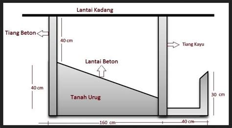 membuat kandang kambing detail video  foto ndik home