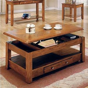 logan oak lift top cocktail table furniture living room With the room place coffee tables
