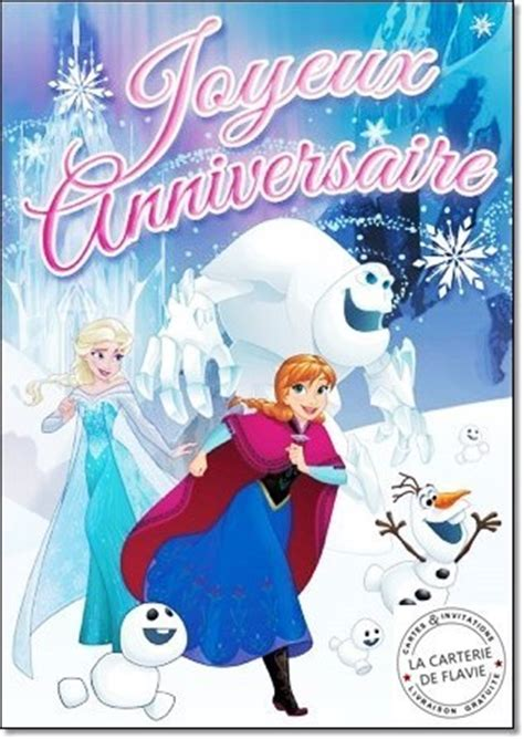 joyeux anniversaire reine des neiges image anniversaire la reine des neiges