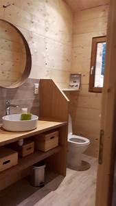 salle de bain en bois style nordique a charbonniere les With salle de bain style nordique