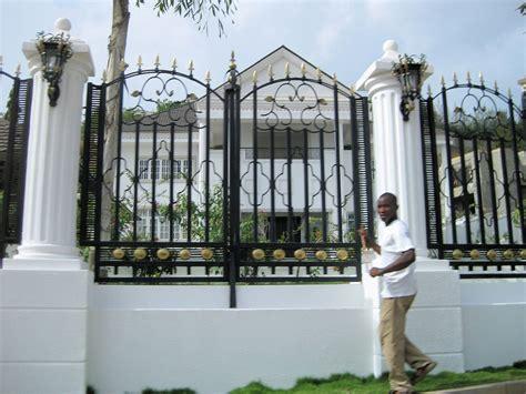 european house plans best fence design in nigeria