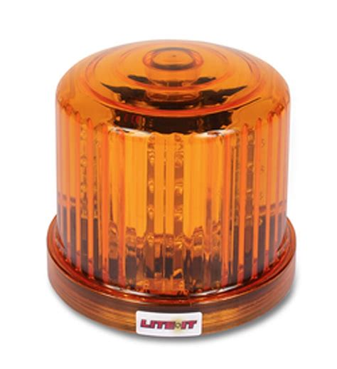 led amber rotating beacon safety emergency warning light