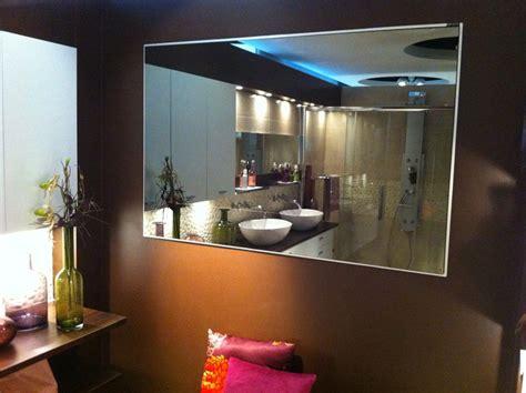 miroir adhesif salle de bain miroir de salle de bain dimension sur mesure