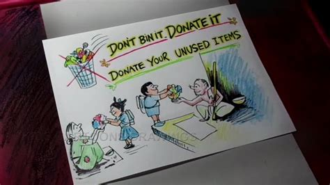 draw donate unused stationery items  victims
