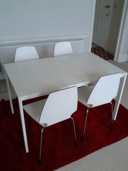 Melltorp Tisch Ikea by Ikea Melltorp Table And Vilmar Chairs Furniture Chair