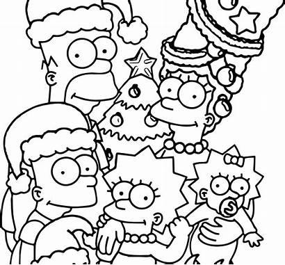 Simpsons Coloring Simpson Colorear Sheets Cool Paginas