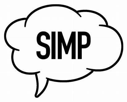 Slang Term Simp Mean Does Should Dark