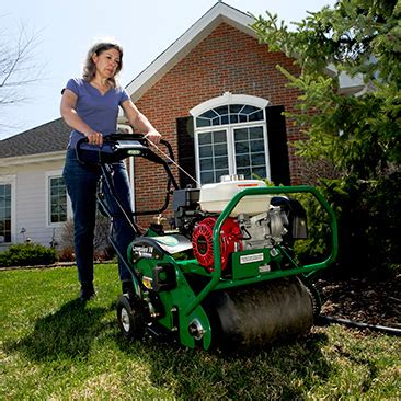 Home Depot Rent Aerator by Pro Aerator Rental The Home Depot