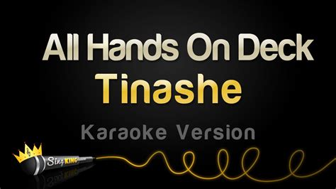 tinashe all on deck meaning tinashe all on deck karaoke version