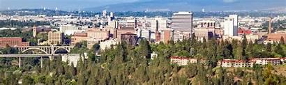Population University Largest Spokane Washington Downtown Wa