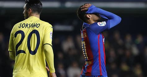Barcelona empató 1-1 con Villarreal y quedó a cinco puntos ...