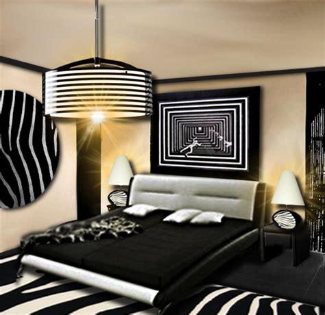 chambre noir et blanc design chambre design floriane lemarié