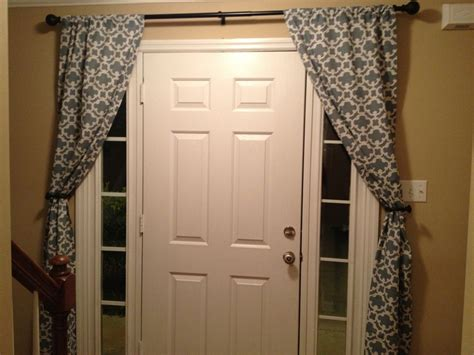 front door sidelight window curtains 17 best images about curtains for narrow windows next