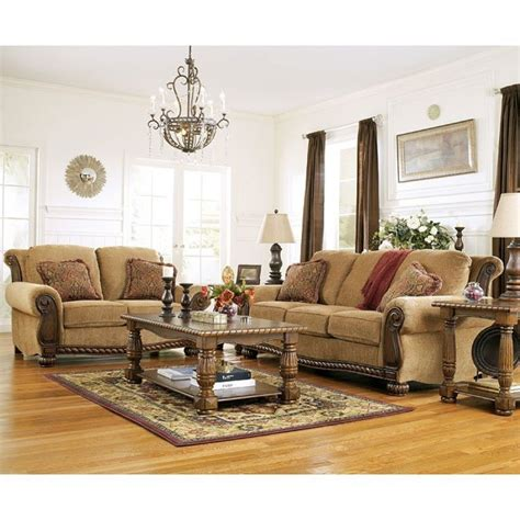 burnham amber living room set signature design  ashley