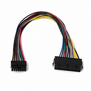 14 To 24 Pin Adapter : 24 pin to 14 pin power supply atx cable for lenovo q77 b75 ~ Jslefanu.com Haus und Dekorationen