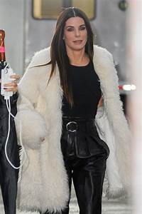 Sandra Bullock Looking Fancy In Fur For 39Ocean39s Eight