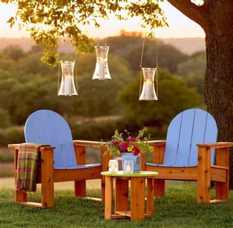 easy  fun diy outdoor furniture ideas