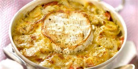 une normande en cuisine le gratin aux pommes de terre et au camembert une